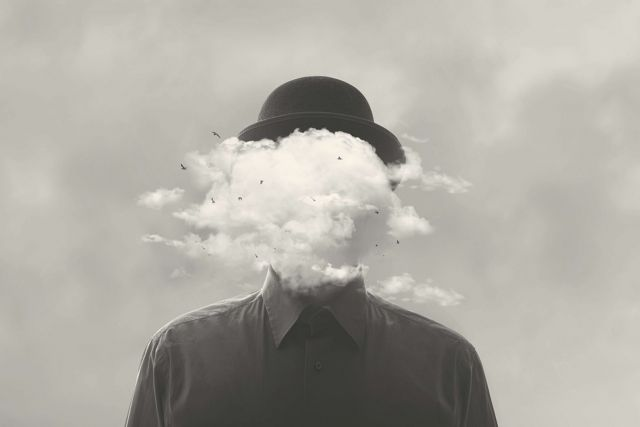 Surreal,Black,And,White,Concept,Man,With,Cloud,Over,Head (Demo)